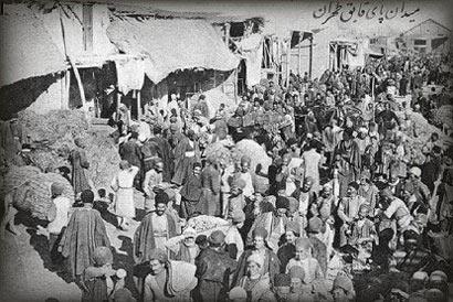 میدان اعدام,اولین شیوه اعدام,چگونگی مراسم اعدام در دوران قاجار