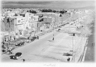 تهران,خیابانهای تهران,اولین خیابانهای تهران