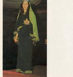 هخامنشیان,پوشش زنان هخامنشی,نحوه پوشش زنان در دوره هخامنشی