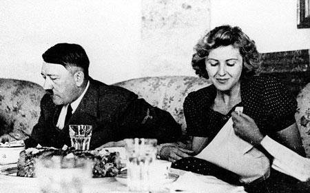 همسر آدولف هیتلر, زندگینامه آدولف هیتلر, آدولف هیتلر و اوا براون