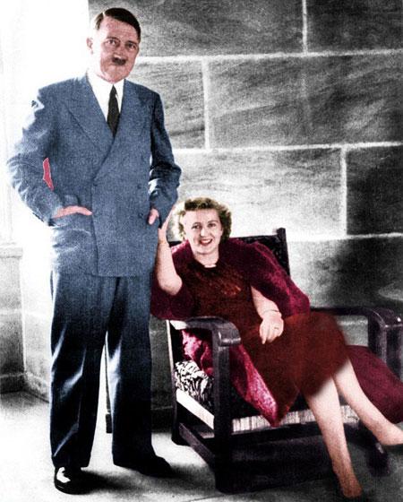 آدولف هیتلر, زندگینامه آدولف هیتلر,همسر آدولف هیتلر