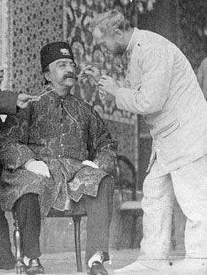 دندانپزشک,اولین متخصص دندانپزشک در ایران,اولین دندانپزشک در زمان قاجار