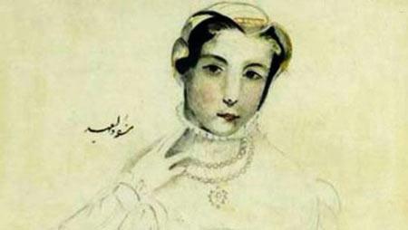 ناصرالدین شاه,تصاویر نقاشیهای ناصرالین شاه,عکس هایی از نقاشیهای ناصرالین شاه