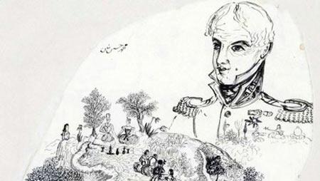 ناصرالدین شاه, نقاشی های ناصرالدین شاه,عکس هایی از نقاشیهای ناصرالین شاه