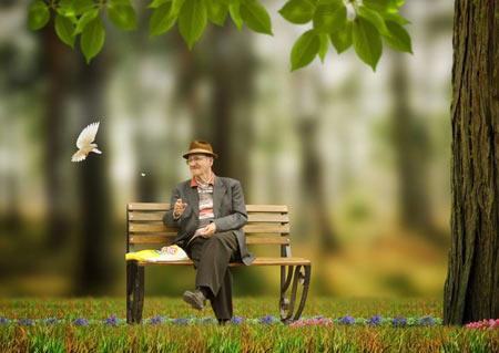 دوران سالمندی,روز جهانی سالمندان,روز جهانی سالمند
