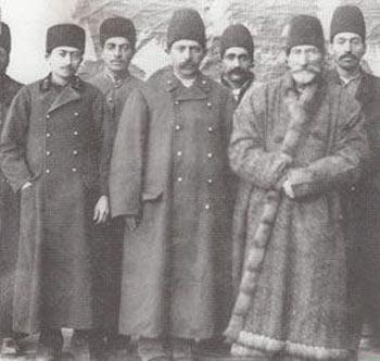 حکومت قاجار,پوشش مردان در زمان قاجار, لباس مردان در زمان قاجار