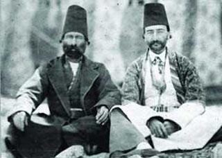 حکومت قاجار, لباس مردان در زمان قاجار, پوشش مردان در زمان قاجار