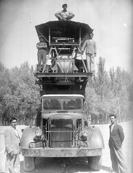 کارخانجات نساجی,تاریخچه راه اندازی کارخانجات نساجی در اصفهان,ماشین آلات نساجی