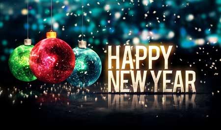 جشن آغاز سال نو میلادی