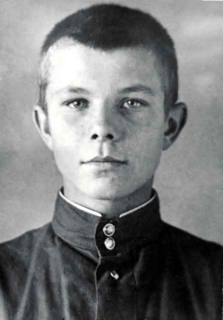 یوری گاگارین, زندگینامه یوری گاگارین,عکس کودکی یوری گاگارین