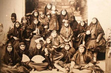 حرمسرای قاجار,حرمسرای شاهان قاجار, زنان حرمسرای ناصرالدین شاه