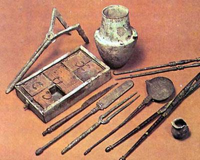 تاريخ باستان,قرون وسطي,اختراعات دوران باستان