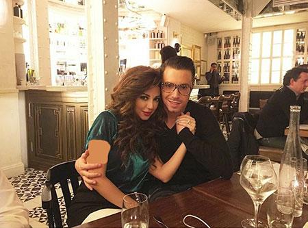 عکس میریام فارس و همسرش, قد و وزن میریام فارس