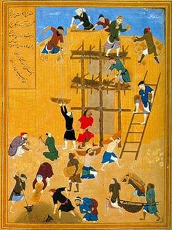 نقاشی در ایران باستان,نقاشى