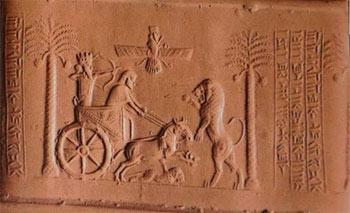 تاریخ و تمدن: تمدن ايلام در هفتتپه و مهرهاي استوانهاي