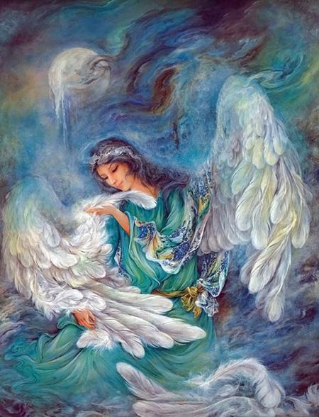 نقاشی مینیاتور,هنر نقاشی مینیاتور ایرانی,عکس نقاشی مینیاتور