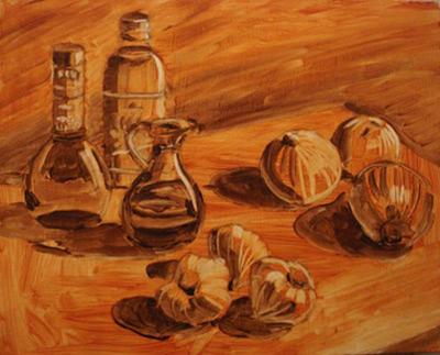 نقاشی رنگ روغن,تابلو نقاشی رنگ روغن,ابزار نقاشی رنگ روغن