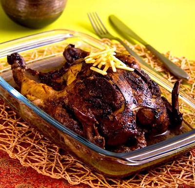 لونگی مرغ, پخت لونگی مرغ