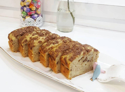 درست کردن کیک موز,نحوه درست کردن کیک موز