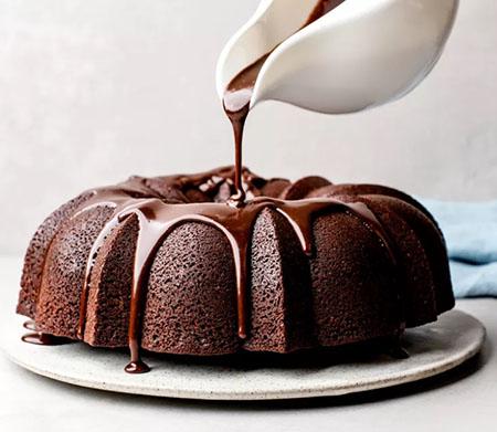درست کردن شکلات روی کیک, شکلات روی کیک, شکلات روی کیک خانگی