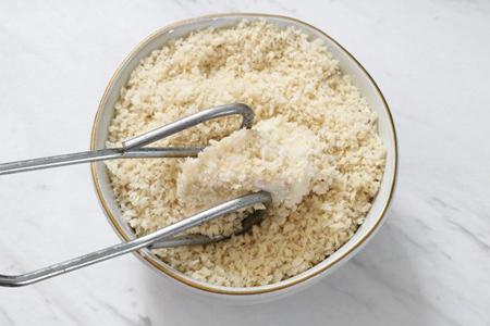 طرز تهیه غذای چینی با گل کلم, نحوه پخت تسو