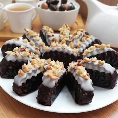 نحوه درست کردن اسلایس شکلاتی, تهیه اسلایس شکلاتی