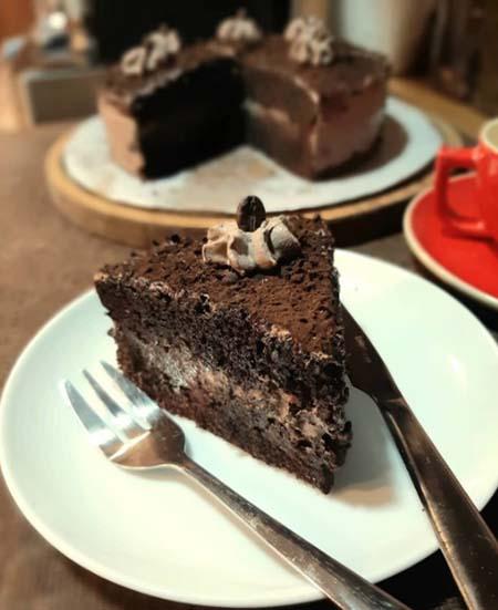 روش تهیه کیک قهوه, کیک قهوه فنجانی, کیک قهوه و گردو