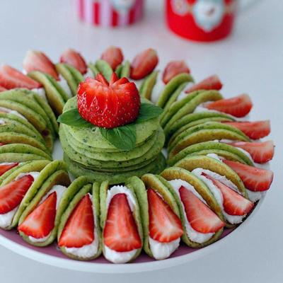 طرز تهیه کرپ کیک اسفناجی,نحوه پخت کرپ کیک اسفناجی