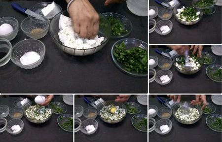 فطایر پنیری عربی,طرز تهیه غذاهای عربی