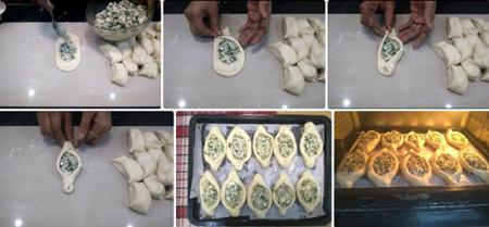 طرز تهیه خمیر فطایر پنیری,تکنیک های درست کردن فطایر پنیری