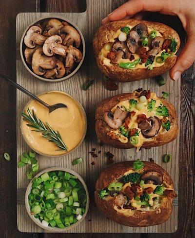 طرز پخت سیب زمینی شکم پر, نحوه پخت سیب زمینی شکم پر