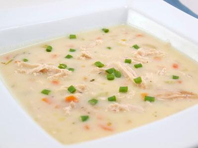 پخت سوپ با شیر , طرز تهیه سوپ سفید