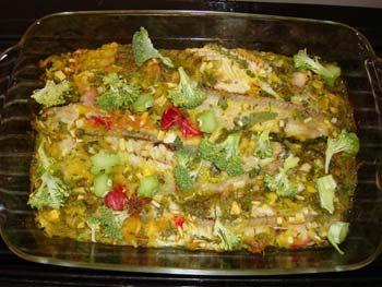 طرز پخت ماهی قزل آلا, مواد لازم برای ماهی آب پز