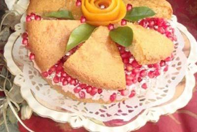 کیک انار,طرز تهیه کیک انار