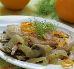 مرغ پرتقالی با ادویه فرانسوی,طرز تهیه مرغ پرتقالی با ادویه فرانسوی