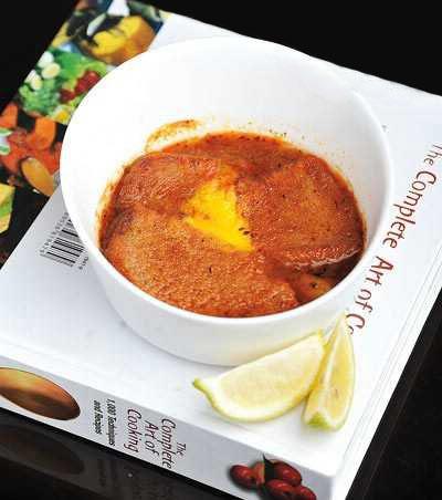 طرز تهیه سوپ سیر اسپانیایی,پخت سوپ سیر