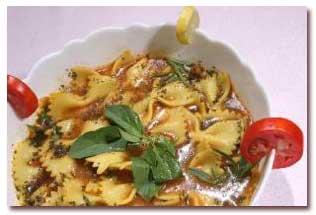 سوپ ماکارونی فرمی