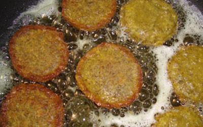 طرز تهیه کوکو عدس , نحوه پخت کوکو عدس