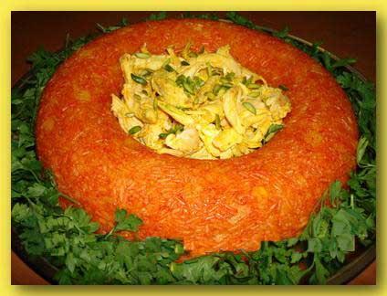 طرز تهیه استامبولی پلوی قالبی آموزش آشپزی