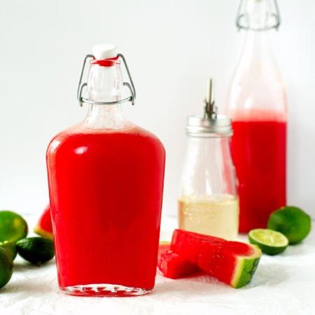 طرز تهیه شربت با هندوانه , مواد لازم برای شربت هندوانه