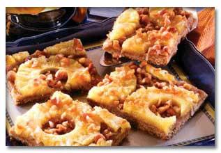 طرز پخت کیک آناناس و گردو