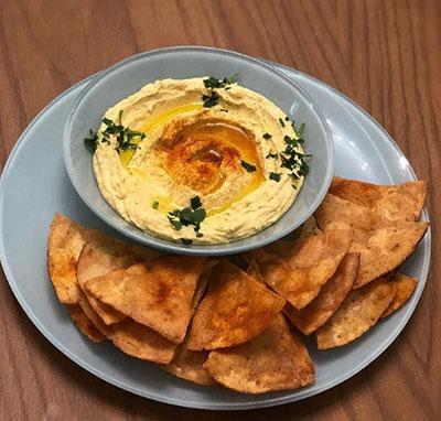 حموس غذاى لبنانى,طرز تهیه حموس غذاى لبنانى