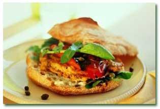 طرز تهیه برگر ویژه گیاهخواران