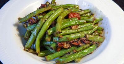 طرز تهیه خوراک لوبیا سبز تند,نحوه پخت خوراک هندی