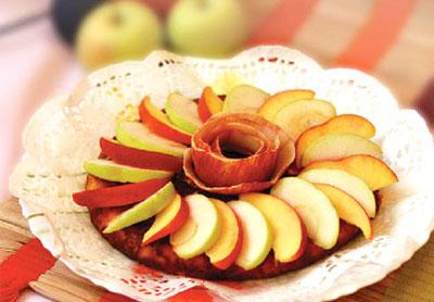 طرز تهیه کوکوی سیب درختی, پخت کوکوی سیب درختی