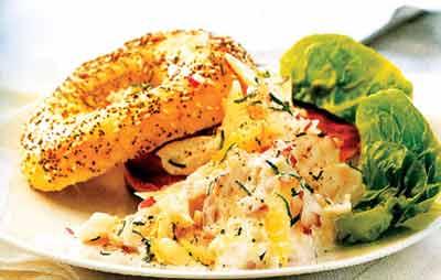 طرز تهیه سالاد ماهی سفید,سالاد ماهی سفید
