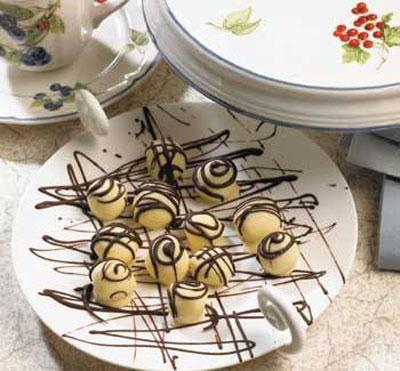 طرز تهیه شکلات برفی,نحوه پخت انواع شکلات