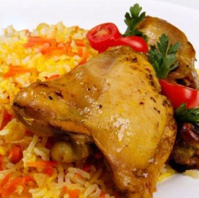 طرز تهیه هویج پلو, پخت هویج پلو با مرغ