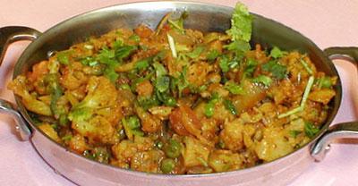 غذای سبزیجات غذای هندی,طرز تهیه غذای سبزیجات غذای هندی