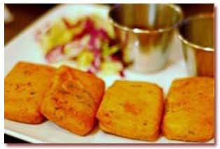 طرز تهیه پاكورای پنیر غذای هندی